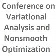 Colloquium & International Conference on Variational Analysis and Nonsmooth Optimization